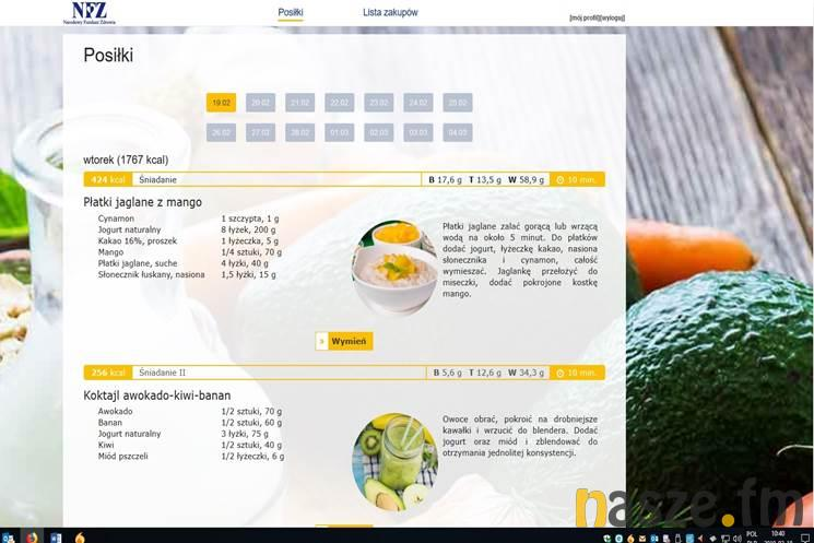 Darmowe Diety Www Nasze Fm Regionalny Portal Informacyjny